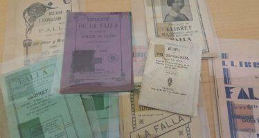 La Biblioteca Valenciana almacena en sus depósitos 5.464 'llibrets' de Fallas