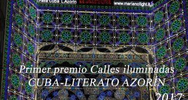 Cuba-Literato Azorín, Primer premio Calles iluminadas 2017