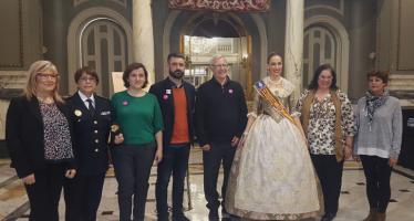 El Ayuntamiento de Valencia reconoce la aportación de las Mujeres a las Fallas