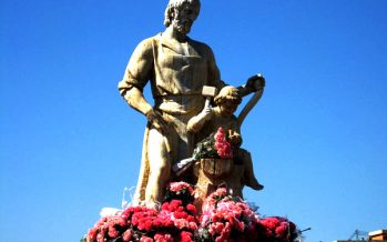 Las 'cartas a San José' quemadas este domingo en Valencia, tradición del siglo XIX