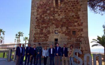 Moragues presenta el proyecto de remodelación de la Torre de Sant Vicent de Benicàssim