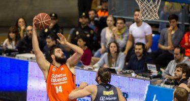 Valencia Basket conquista Tenerife (62-65)