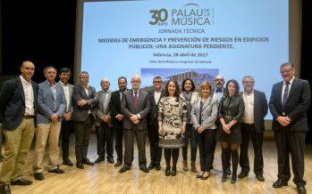 Valencia acoge una Jornada de Medidas de Emergencia y Riesgos Laborales en edificios públicos