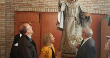 El IVC+R presenta la imagen restaurada de san Pascual Bailón de Vila-real