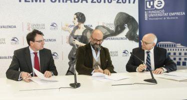 ADEIT y Les Arts colaboran en el fomento y la promoción de las artes líricas