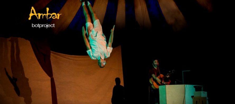 El Teatro Rialto presenta este fin de semana el espectáculo de circo musical 'Ambar'