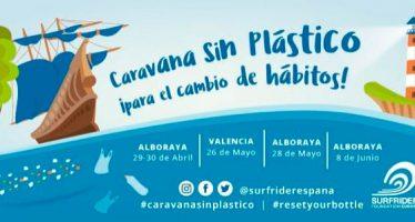 Surfrider llega a la Comunidad Valenciana con la #CaravanaSinPlástico