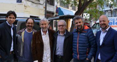 El director general del IVC visita el rodaje de 'Formentera Lady', de Pau Durà