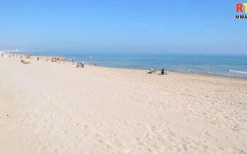 La platja de Miramar ja està a punt per a les vacances de Setmana Santa