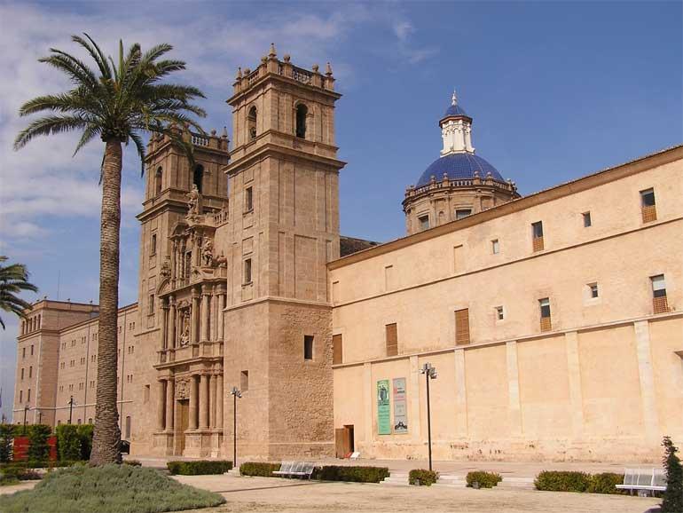 San Miguel de los Reyes, sede del registro de propiedad intelectual.