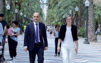 Generalitat y Ayuntamiento colaborarán para peatonalizar la Explanada de Alicante