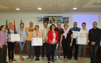 Turisme entrega en Elche y Finestrat 12 distintivos Sicted a empresas y organismos públicos