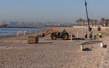 Alboraya pone a punto sus playas