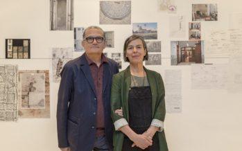 La muestra de Carmela García reivindica el papel de la mujer en el espacio público