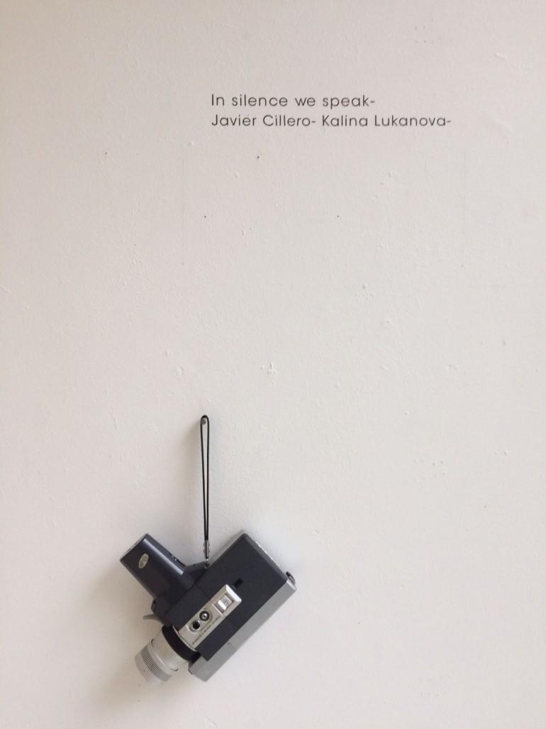 Detalle de la obra 'in silence we speak' de Javier Cillero (ESAT) y Kalina Lukanova (PCA).