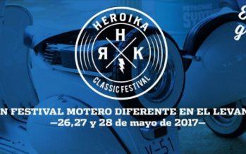 'Heroika Classic Festival', festival de motos clàssiques de l'Eliana, del 26 al 29 de maig