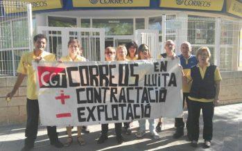 Los carteros de Vila-real se movilizan ante la falta de personal