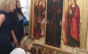 L'IVC+R restaura el retaule de l'Ermita de Sant Francesc d'Assís de Náquera