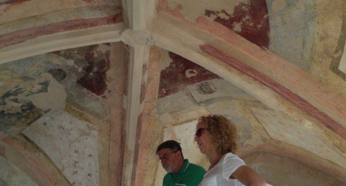 El Institut Valencià de Conservació restaura la cruz cubierta de Jérica