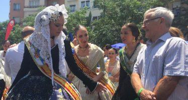 Ribó viatja a Alacant per a viure les Fogueres