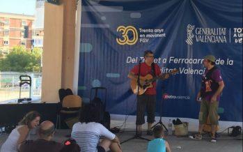 La estación de La Marina acoge este domingo nuevas actividades del 30 aniversario de FGV