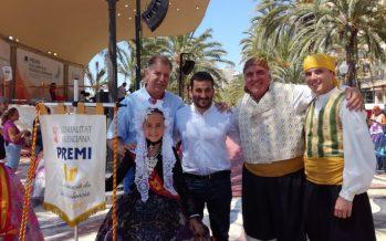 La Generalitat premia la promoció del valencià a les Fogueres de Sant Joan