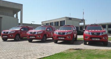 Los bomberos forestales disponen ya de nuevos vehículos