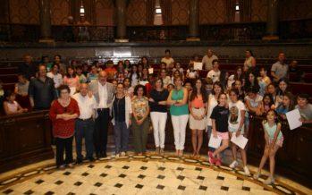 Es lliuren a l'hemicicle de l'Ajuntament de València els premis Compartim Trucs