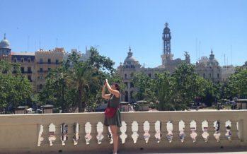 Dos anys de visites dels ciutadans al balcó de l'Ajuntament de València