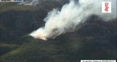 El incendio de Gátova ha quemado ya 973 hectáreas