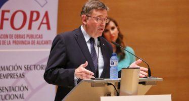 Puig apuesta por el diálogo entre instituciones para impulsar la ejecución de obra pública