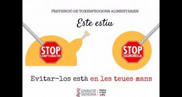 Sanitat recuerda las medidas para prevenir las toxiinfecciones alimentarias