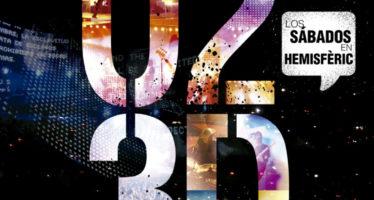 El Hemisfèric estrena este sábado la película 'U2 3D'