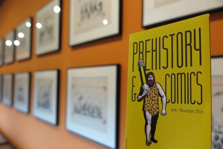 Exposición 'Prehistòria i Còmic' en Xàtiva