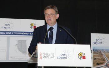 Puig anuncia la decisión del Consell de acometer la segunda fase de Parc Sagunt