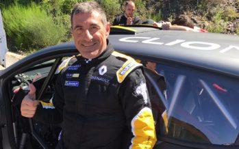 Miguel Fuster se prepara para el Rallye de Llanes