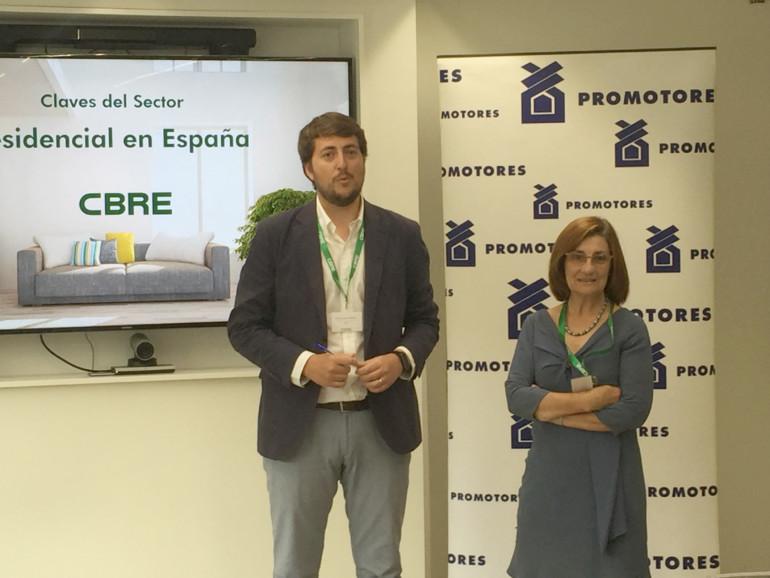 José Ángel Sospedra y Teresa Puchades.
