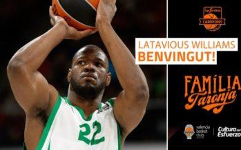 Valencia Basket ficha a Latavious Williams