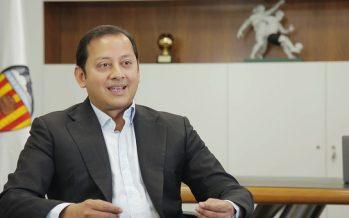 Anil Murthy asume el cargo de presidente del Valencia CF