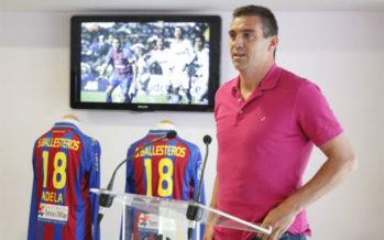 El ex jugador granota Ballesteros, pregonero de San Roque 2017 en Burjassot