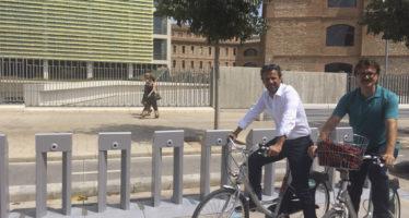 "València, primera ciudad ""con sistema integrado e intermodal de bicicleta pública"""