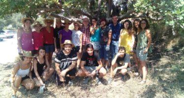 El campo de voluntariado juvenil 'La Cova Negra' de Xàtiva, iniciativa pionera en la prevención de incendios