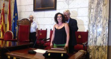 Neus Fàbregas pren possessió com a regidora de l'Ajuntament de València