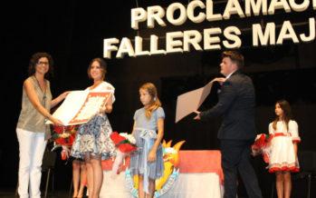 Proclamades les noves Falleres Majors de Paiporta 2018, Tamara Canales i Noemí Garcia