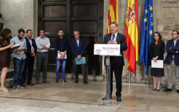 Puig pide unidad a los grupos para negociar el nuevo modelo de financiación