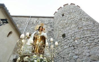 Murla recibe a la imagen peregrina de la Virgen de los Desamparados
