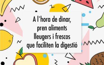 Campanya de l'Ajuntament de València per a fomentar el consum saludable a l'estiu