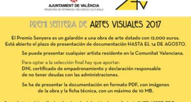 El Ayuntamiento de València convoca el Premi Senyera para proyectos de artes visuales