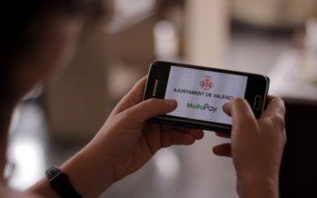 Los pagos de multas mediante tarjeta aumentan un 85 por ciento en València