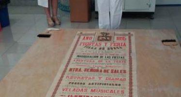ICV+R restaura cuatro carteles de las fiestas mayores de Sueca